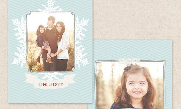 Free Christmas Card Template For Photographers | Christmas for Free Christmas Card Templates For Photographers