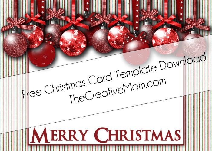 Free Christmas Card Templates   Christmas Card Templates in Christmas Photo Cards Templates Free Downloads