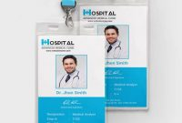 Free Hospital Identity Card Template – Psd | Illustrator with Hospital Id Card Template