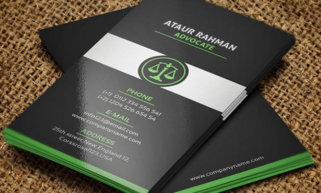 Free Lawyer Business Card Template On Behance intended for Legal Business Cards Templates Free