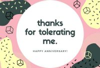 Free, Printable Anniversary Card Templates | Canva regarding Anniversary Card Template Word