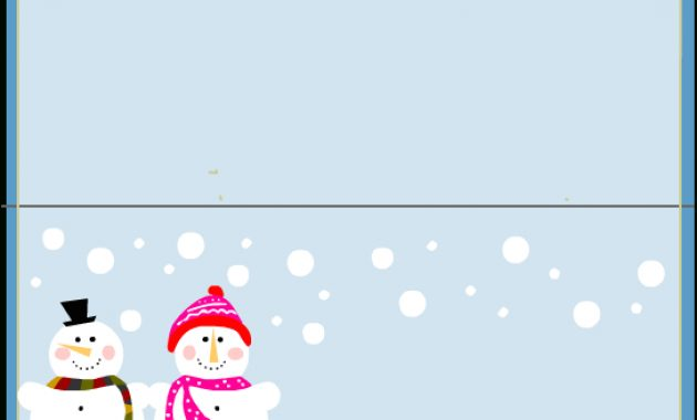 Free Printable Christmas Place-Cards within Christmas Table Place Cards Template