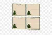Free Printable Place Card Templates Christmas Table intended for Christmas Table Place Cards Template