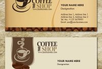 Free Templates Business Card For Coffee Shop – Google with regard to Coffee Business Card Template Free