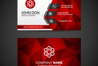 Free Vector | Business Card Template within Call Card Templates