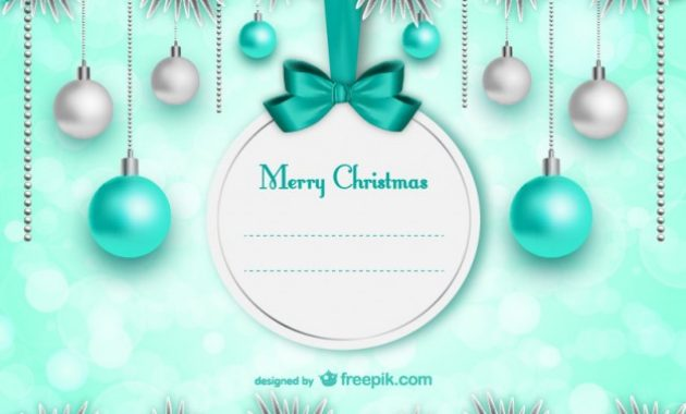 Free Vector   Elegant Christmas Card Template intended for Christmas Photo Cards Templates Free Downloads