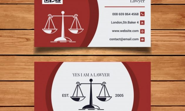 Free Vector | Lawyer Business Card Template throughout Legal Business Cards Templates Free
