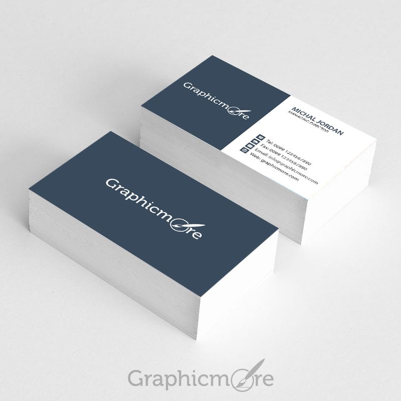Graphicmore Business Card Template Free Psd File With Psd Name Card Template