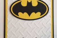 Handmade Batman Birthday Card | Birthday Card Template with regard to Batman Birthday Card Template