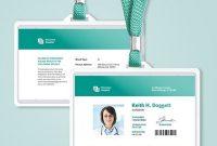 Hospital Id Card Template | Id Card Template, Identity Card with regard to Hospital Id Card Template