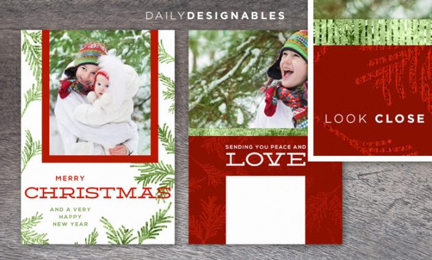 Instantly Download This Glimmery And Modern 2014 Christmas inside Free Christmas Card Templates For Photographers