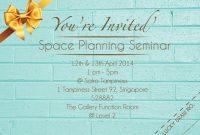Kulasara: 25 Elegant Seminar Invitation Card Design with Seminar Invitation Card Template