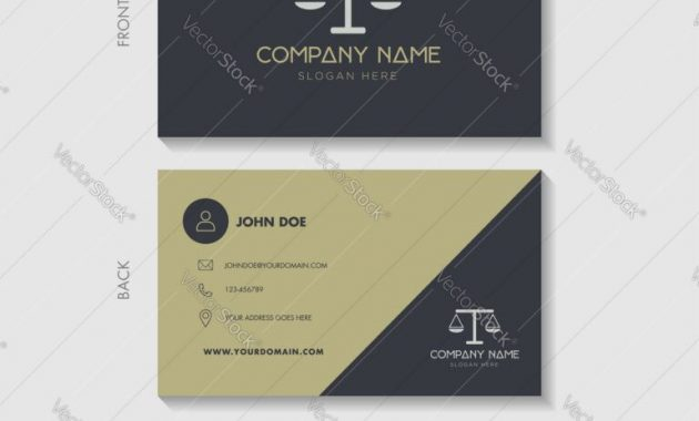 Lawyer Business Cards Templates Legal Card Template Attorney regarding Legal Business Cards Templates Free
