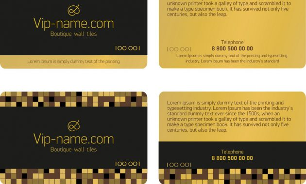 Loyalty Card Design Template with Loyalty Card Design Template