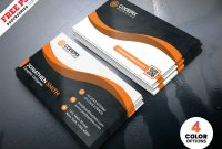 Modern Business Card Designs Template Psd | Psdfreebies pertaining to Psd Visiting Card Templates