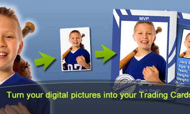 Mytradingcards – Make Your Custom Trading Cards within Custom Baseball Cards Template