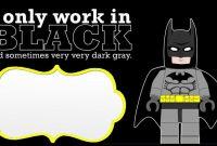 Nice Free Printable Batman Birthday Invitations | Batman throughout Batman Birthday Card Template