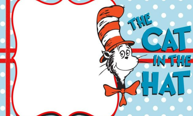 Pin On The Best Professional Templates in Dr Seuss Birthday Card Template