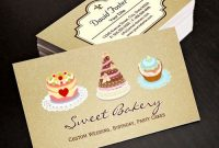 Pinmodern Business Cards | Bizcar On Bakery Business within Cake Business Cards Templates Free