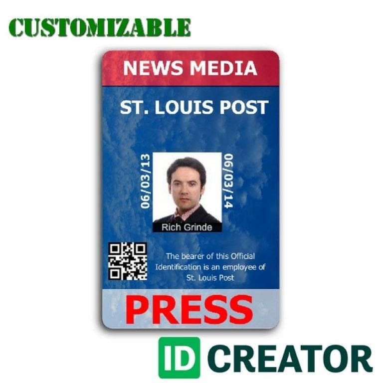 Pinrandell Fisco On Saved Id Card Template Badge Template Id In Media Id Card Templates