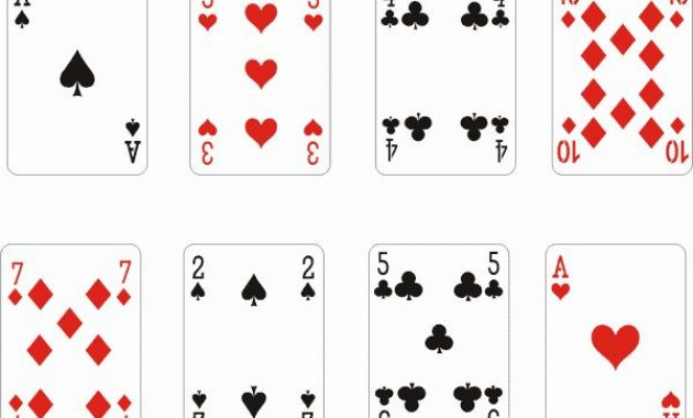Playing Card Template Word Fresh Playing Card Template with regard to Free Printable Playing Cards Template