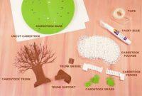 Pop-Up Paper Apple Tree Card (3D Sliceform) – Jennifer Maker inside Pop Up Tree Card Template