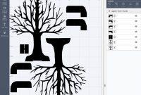 Pop-Up Paper Apple Tree Card (3D Sliceform) - Jennifer Maker within Pop Up Tree Card Template