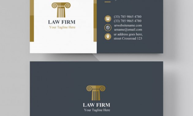 Premium Vector | Lawyer Card Template inside Legal Business Cards Templates Free