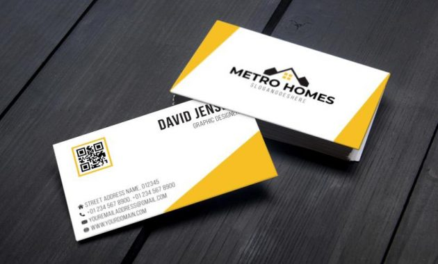 Professional Business Card Template Design – Download Free throughout Professional Business Card Templates Free Download