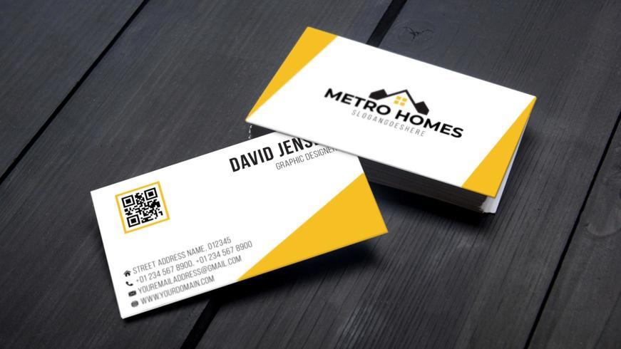 Professional Business Card Template Design – Download Free Throughout Professional Business Card Templates Free Download
