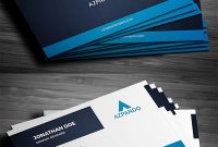 Professional Business Card Templates (30 Print Design Regarding Professional Name Card Template