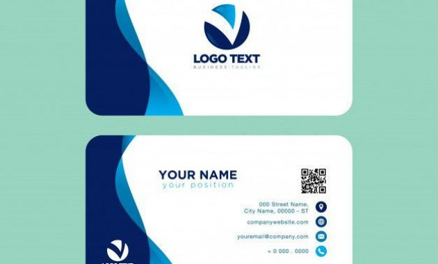 Roofing Business Cards – 11 Examples To Inspire You & 3 Free in Free Bussiness Card Template
