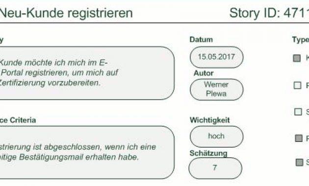 Scrum: So Erstellen Sie Gute User Stories – Business-Wissen.de inside Agile Story Card Template