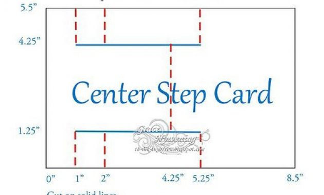 Th-Ink-Ing Of You: Fathers Day Center Step And Directions intended for A2 Card Template