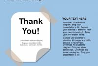 Thank You Card Design Powerpoint Template - Powerpoint Templates throughout Powerpoint Thank You Card Template