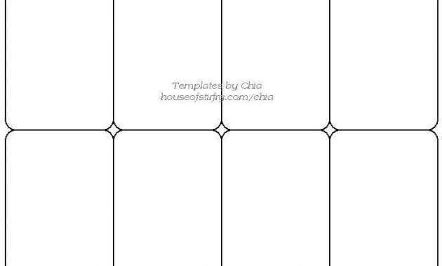 Trading Card Game Template – Free Download | Trading Card with Free Printable Playing Cards Template