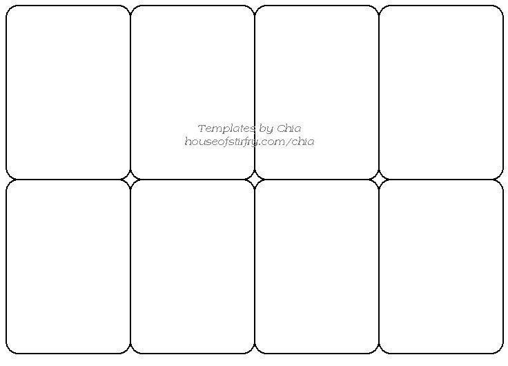 Trading Card Game Template - Free Download | Trading Card With Free Printable Playing Cards Template