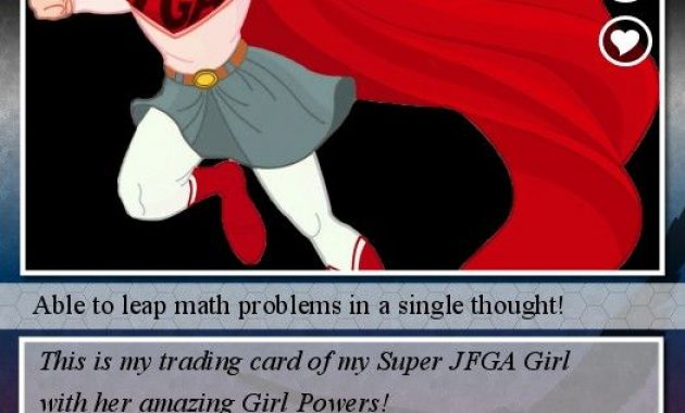 Trading Card: Turn Your Photos Into Trading Cards! | Trading for Superhero Trading Card Template