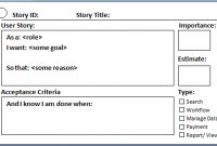 User Story In Agile Scrum intended for Agile Story Card Template