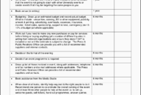 11 Business Conference Planning Checklist Template inside Party Planning Business Plan Template