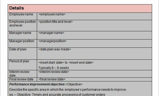 25 Process Improvement Plan Templates In 2020 | How To regarding Business Process Improvement Plan Template