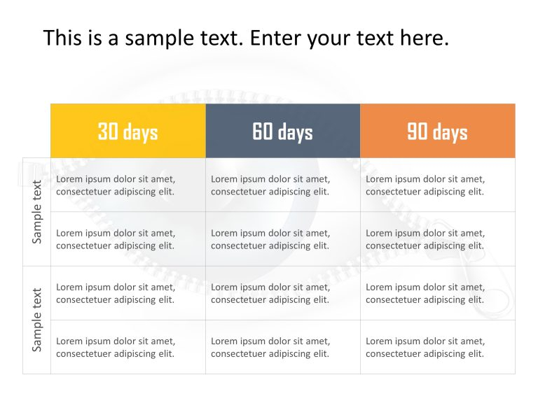 30 60 90 Day Plan Powerpoint Template 23 In 2020 | 90 Day intended for 30 60 90 Business Plan Template Ppt