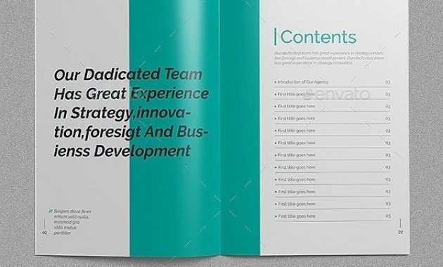 30+ Indesign Business Proposal Templates | Business inside Fresh Business Proposal Template Indesign