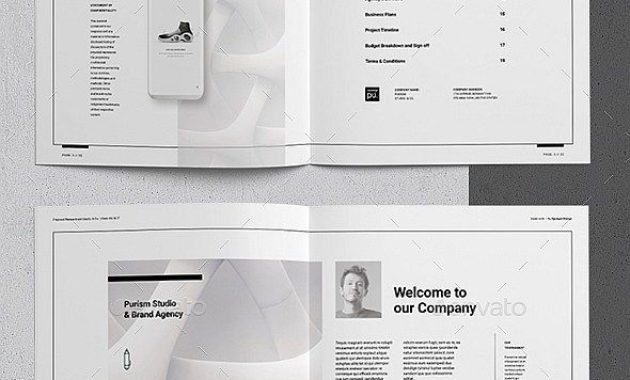 30+ Indesign Business Proposal Templates | Business within Business Proposal Template Indesign