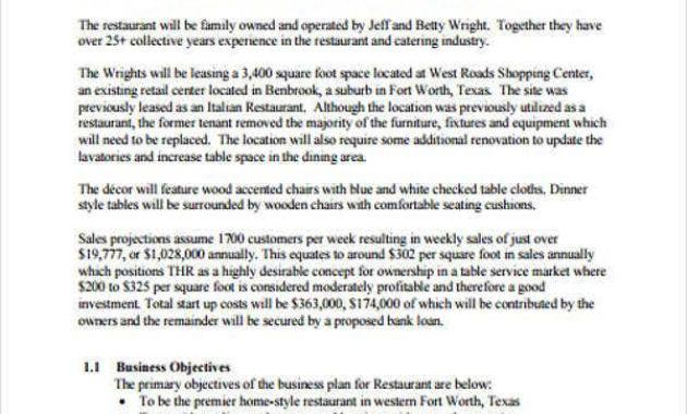 34+ Business Plan Templates In Word   Free & Premium Templates with Amazing Free Poultry Business Plan Template