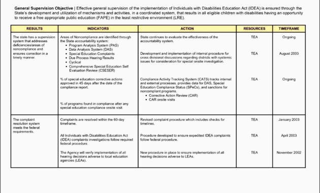 6+ General Action Plan Template – Sampletemplatess with Business Process Improvement Plan Template