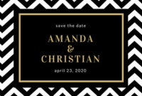 Customize 440+ Save The Date Postcard Templates Online – Canva with regard to Best Save The Date Business Event Templates