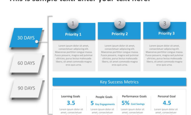 Detailed 30 60 90 Day For Managers | 30 60 90 Day Plan Throughout Fresh 30 60 90 Business Plan Template Ppt