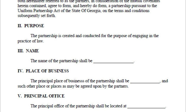 Free 10+ Sample Business Partnership Agreement Templates in Awesome How To Make A Business Contract Template