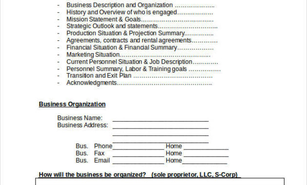 Free 34+ Simple Business Plan Examples In Pdf   Ms Word with regard to Free Poultry Business Plan Template